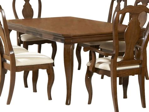 louis philippe dining table liberty furniture louis philippe 84x42 rectangular dining