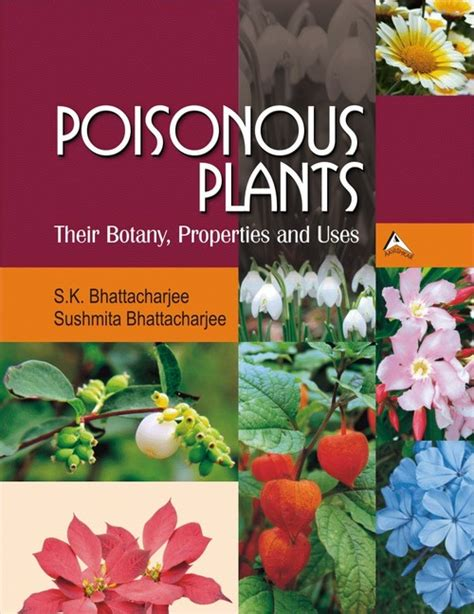 poisonous plants book in new area jaipur rajasthan india pointer publishers