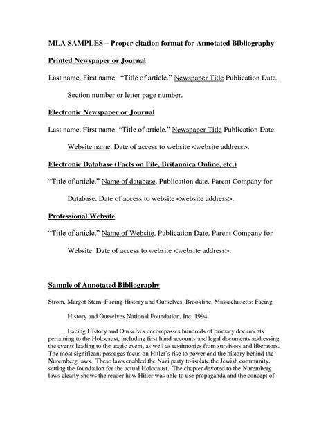 bibliography format for biography best photos of bibliography format for websites exle