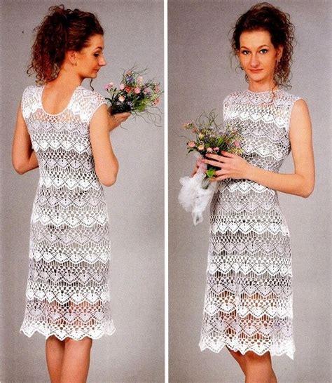 crochet pattern little white dress crochet white dress free crochet patterns