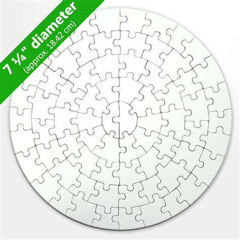 Puzzle Template Blank Puzzle Template Free Premium Circular Jigsaw Puzzles