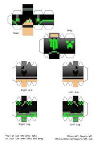 Papercraft Minecraft Skin - minecraft papercraft skins pictures to pin on