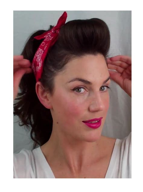 Simple Pin Up Hairstyles by 6 Pin Up Looks For Beginners And Easy Vintage
