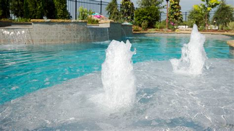 inground pool fountains gunite pool fountains cmp