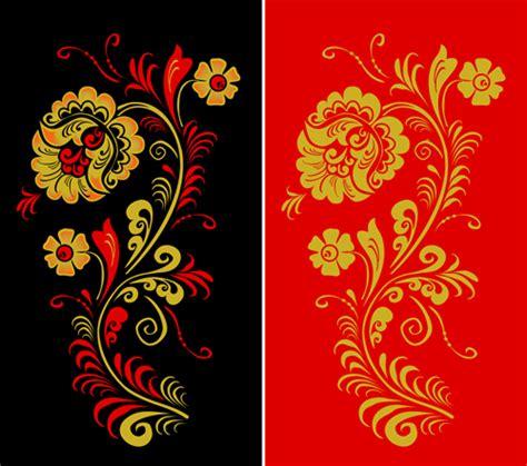 russian pattern art pretty russian ornaments design vector 01 vector frames
