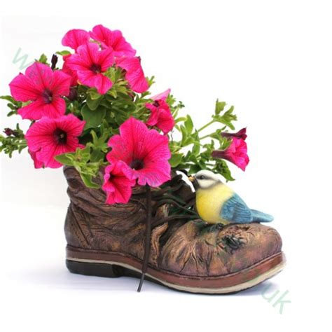 Boot Planter by Blue Boot Planter