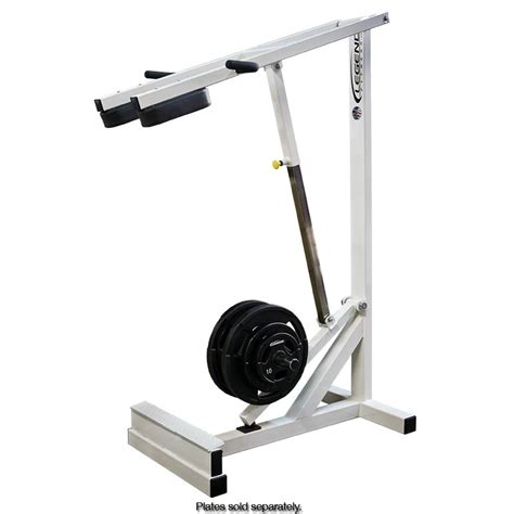 smith machine seated calf raise plate loaded standing calf raise machine legend fitness