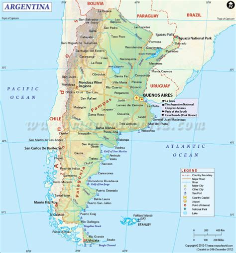 map of argentina with cities argentina travel guide travel map of argentina
