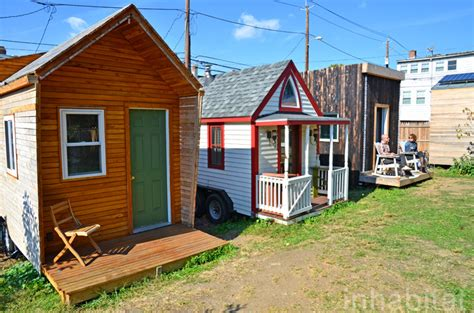 Tumbleweed Tiny Houses Photos Whole Village Of Tiny Houses Makes Boneyard