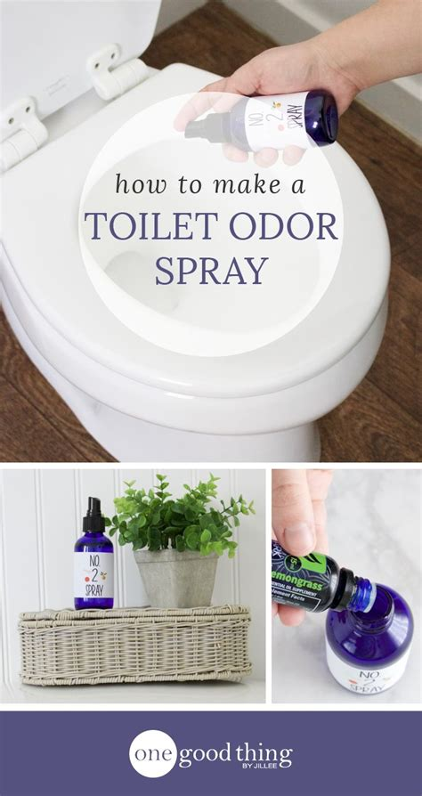 How To Make My Bathroom Smell how to make a toilet odor spray with essential oils
