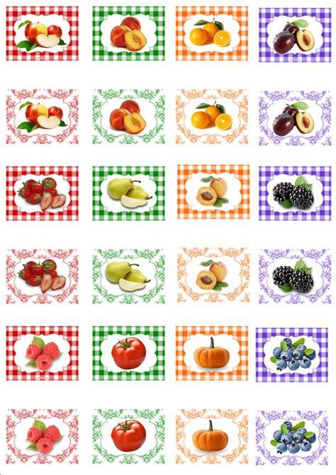 Miniature Printables Food