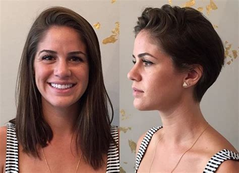 haircut for long hair to short long to short hair makeovers hair hairstyles news