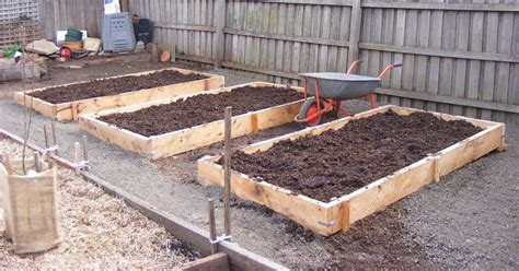 backyard self sufficiency backyard self sufficiency 5 building the raised growing beds