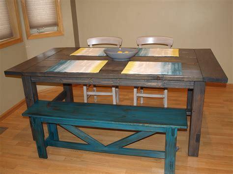 farmhouse bench ana white ana white farmhouse table diy projects