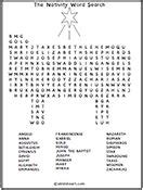 printable nativity word search the nativity printable puzzles resources and online
