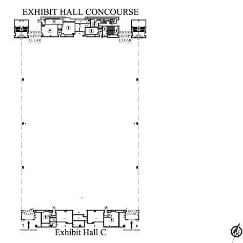 music city center floor plan exhibit hall c nashvillemusiccitycenter com