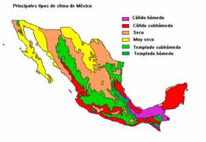 Weather Map Mexico by Mexico Climate Map Mexico Mappery