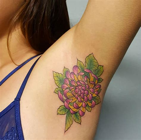 armpit tattoo designs ideas and meaning tattoos for you