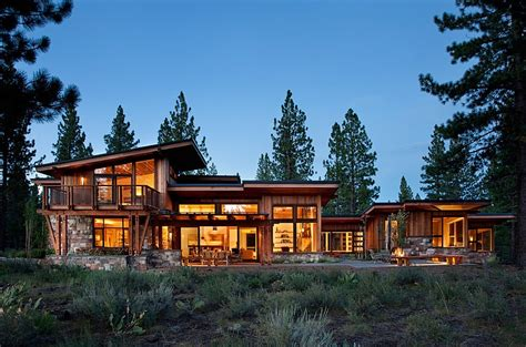 mountain architecture floor plans mountain home by ryan group architects homeadore