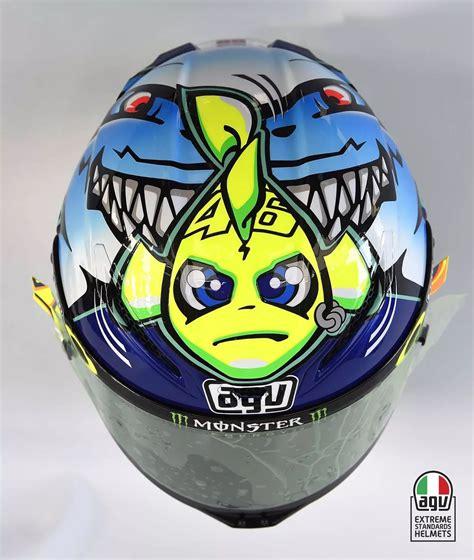 helm airbrush replika helm valentino nemo versi