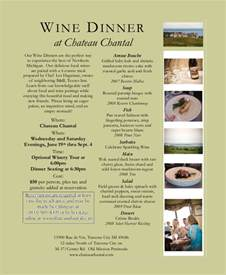 Wine Dinner Menu Template by Sle Dinner Menu 6 Documents In Pdf