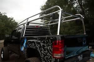 custom aluminum truck ladder racks
