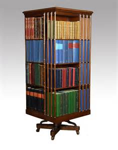 Antique Revolving Bookcase For Sale Walnut And Ash Four Tier Revolving Bookcase Antiques Atlas