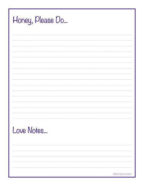 honey do list template honey do list quotes quotesgram