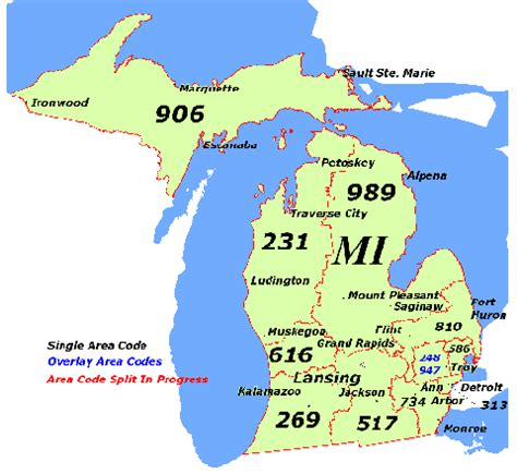 Michigan Address Lookup Area Code 517