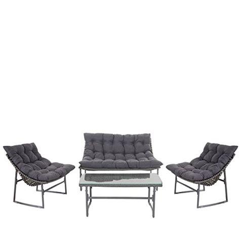 lounge set garten garten lounge set graumix d - Polyrattan Pflanzkübel Dänisches Bettenlager