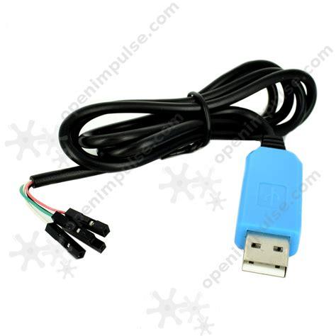 Kabel Konverter Usb Pl2303ta To Rs232 Black pl2303ta usb to rs232 cable open impulseopen impulse