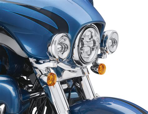 harley davidson auxiliary lighting kit 67800367 custom auxiliary lighting kit chrome at