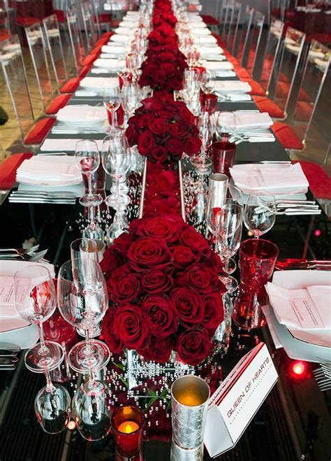 1000  ideas about Red Rose Centerpieces on Pinterest   Red