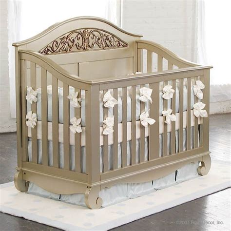Chelsea Lifetime Crib Antique Silver Beautiful Baby Vintage Cribs For Babies