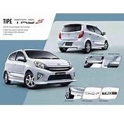 Toyota Agya Indonesia 2017  Spesifikasi Eksterior
