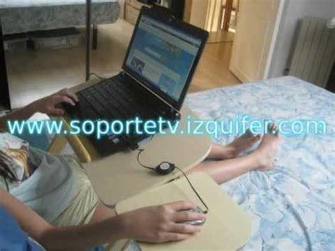 mesa de cama para ordenador portátil youtube