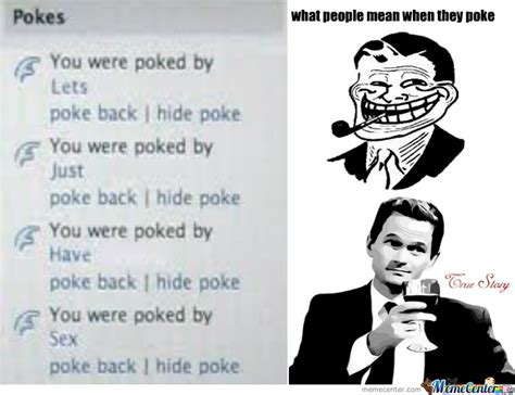 Poke Meme - facebook poke by bexoboss meme center