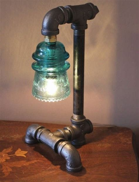 Mason Jar Candle Chandelier 15 Edgy And Industrial Table Lamps