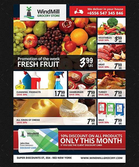 20 Grocery Flyer Templates Printable Psd Ai Vector Eps Format Download Design Trends Supermarket Flyer Template Free