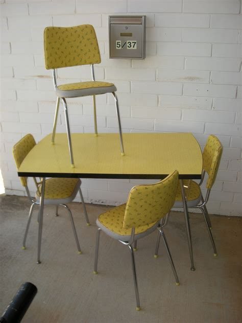 1960 Kitchen Table And Chairs Sold Jet Age