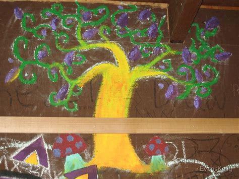 graffiti tree  life  evanskelly redbubble