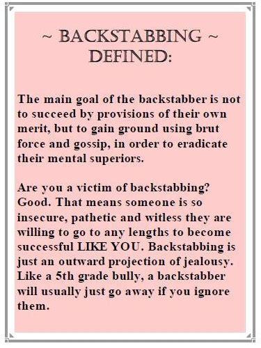 backstabbing friends quotes