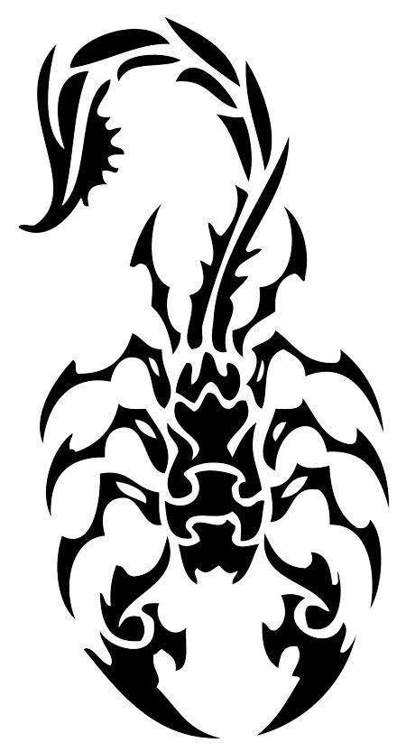 tatuajes de escorpiones para mujer - Plantillas de tatuajes