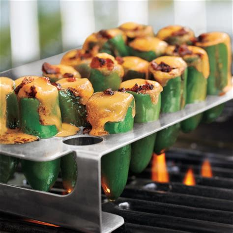 Jalapeno Popper Rack by Bbq Jalapeno Poppers With A Chili Pepper Grill Rack And Corer Punchpin Bbq
