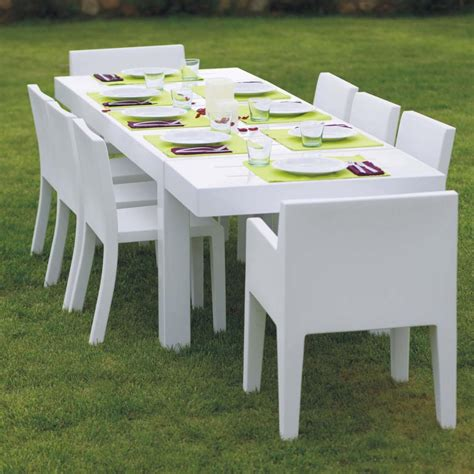 table jardin table de jardin design 10 personnes jut par vondom