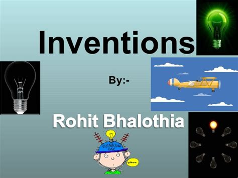 ppt on inventions
