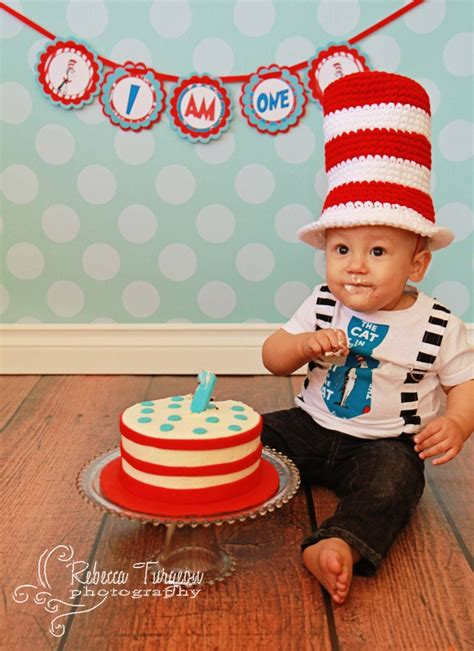 Dr seuss cat in the hat high chair banner by lulupaperprints 11 00 birthday parties