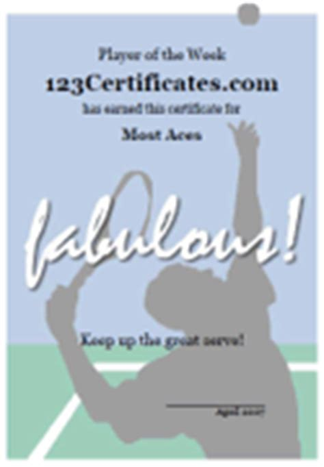 tennis gift certificate template free printable tennis certificates blank tennis