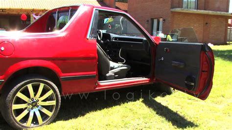 subaru pickup conversion subaru mv pick up wrx sti 280hp youtube