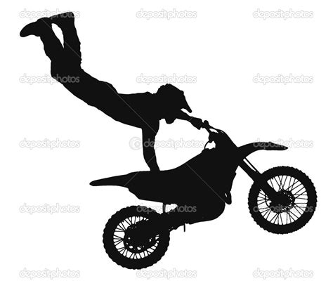 dirt bike clipart dirt bike silhouette clip woodburning